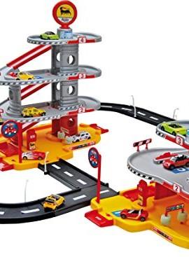 Circuito de coches con luz para niños