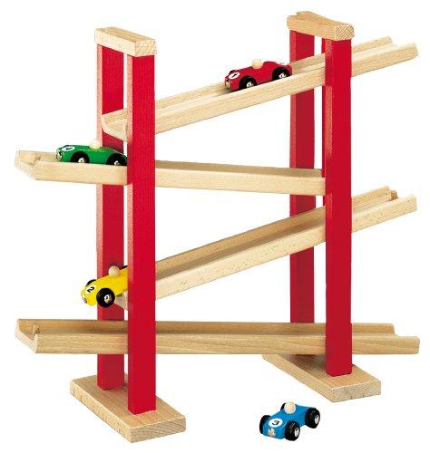 Pista de madera con 4 niveles HEROS