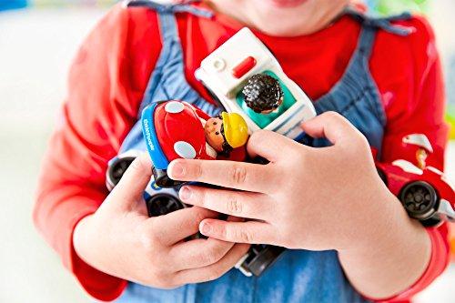 Pista con coches para niños de Mattel