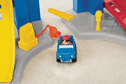 Pista de coches para niños y niñas de Mattel