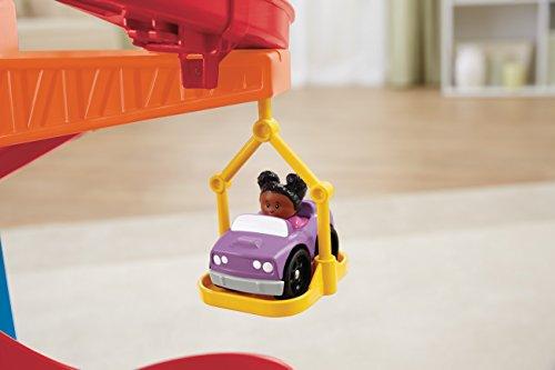 Little-People-Supercircuito con grúa-Mattel