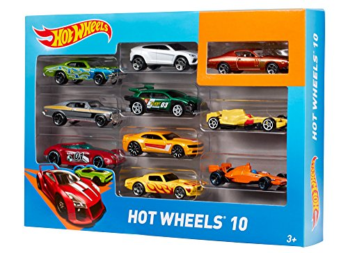 Divertidos coches de juguetes de Hot Wheels