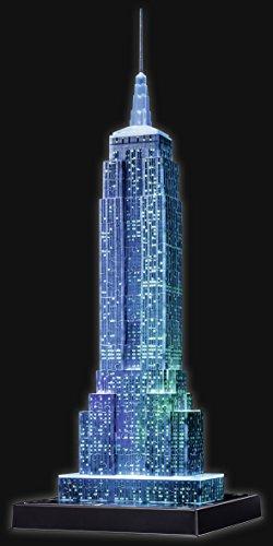 Puzzle 3D del emblemático edificio Empire State