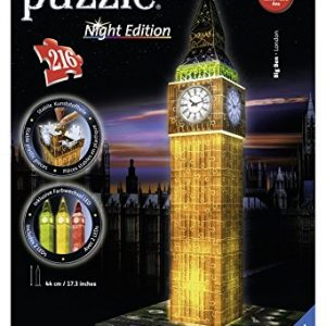 Ravensburger Puzzle 3D Big Ben Night edición