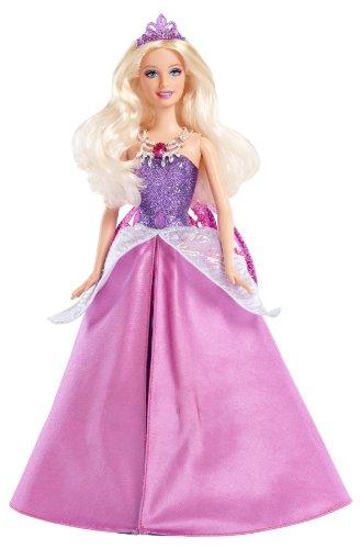 Barbie princesa Catania con falda y alas desplegables