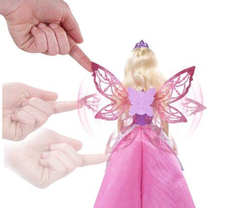 Alas desplegables de Barbia princesa