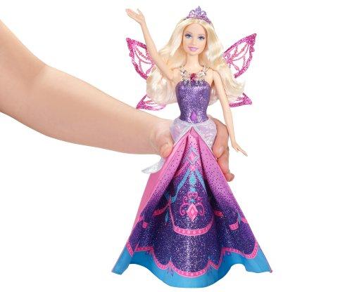 Muñeca Barbie princesa Catania convertida en hada