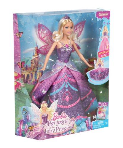 Muñeca Barbie princesa Catania con alas