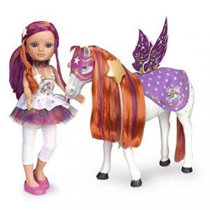 Muñeca de famosa Nancy y caballo