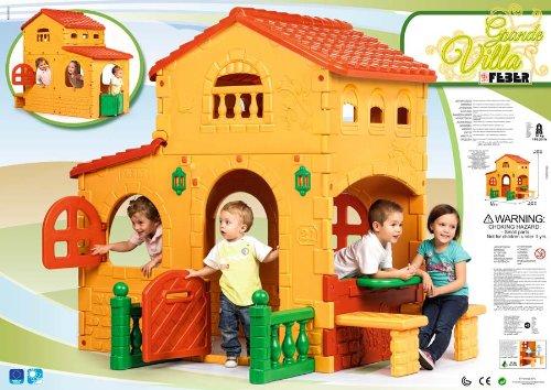 Casa de juguete grande de Feber