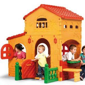 Casa grande d eFeber para niños y niñas