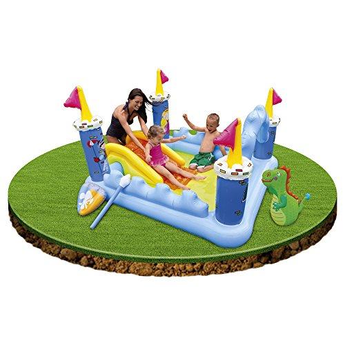Centro de juegos hinchable dise o castillo fantasy para jugar for Piscinas hinchables grandes