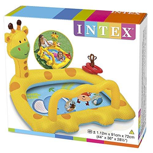 Piscina intex hinchable para bebe juguetespeque for Amazon piscinas infantiles