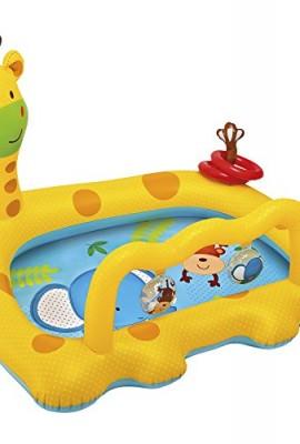 Piscina hinchable de bebés con forma de jirafa