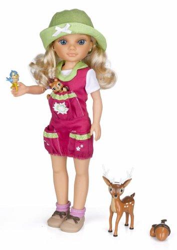 Muñeca Nancy y animales del lago