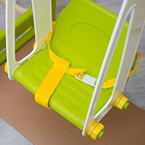 Columpio infantil seguro y estable