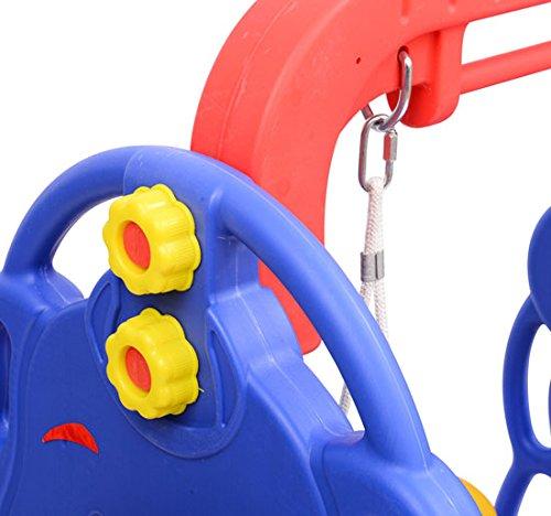 Columpios seguros para niños y niñas