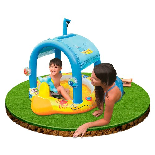 Piscina infantil dise o barco juguetespeque for Piscinas hinchables infantiles
