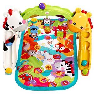 Manta para bebes con llamativos colores y juegos