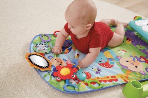 Gimnasio para bebes con espejo