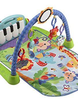 Manta de juegos y gimnasio para bebes con piano
