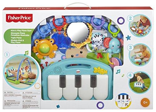 MAnta de juegos con piano para bebes