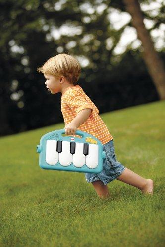Manta con piano para niños y niñas