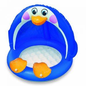 Piscina inflable infantil pingüino