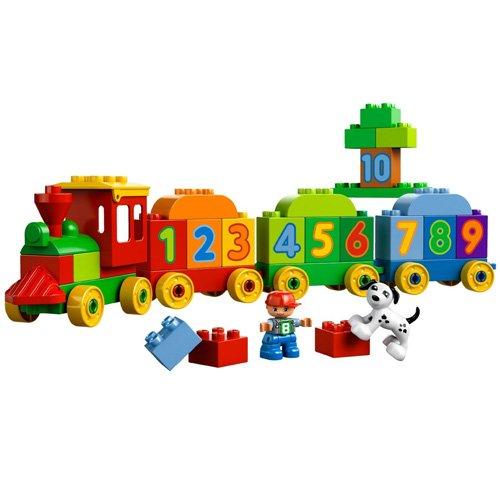 El tren de los numeros Lego