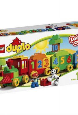 Tren de Lego Duplo para aprender los números