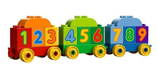 Aprende los numeros con el tren de Lego