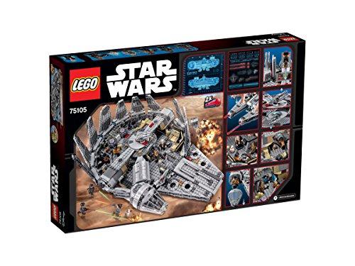 LEGO-Star-Wars-Nave Halcon Milenario