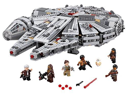 LEGO-Star-Wars-Set-halcon milenario y personajes