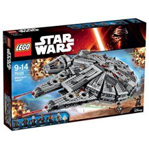 LEGO-Star-Wars-Set-Millennium-Falcon-con personajes