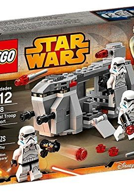 Lego Star Wars y transporte Imperial
