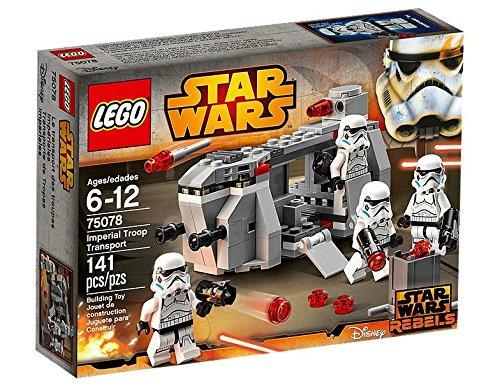 Lego Star Wars y transporte Imperial