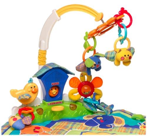 Manta de juegos para bebes de Fisher Price