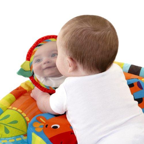 Manta de juegos con espejo para bebes