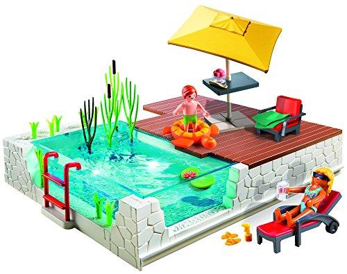 Playmobil-Piscina con Terraza