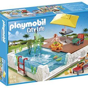 Playmobil-Juego-de-construccin-Piscina-con-Terraza