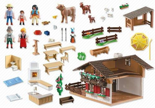 Casa los alpes playmobil juguetespeque for La casa de playmobil