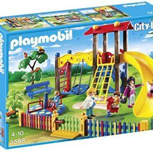 Juguete-Playmobil-zona-de-juegos-infantil