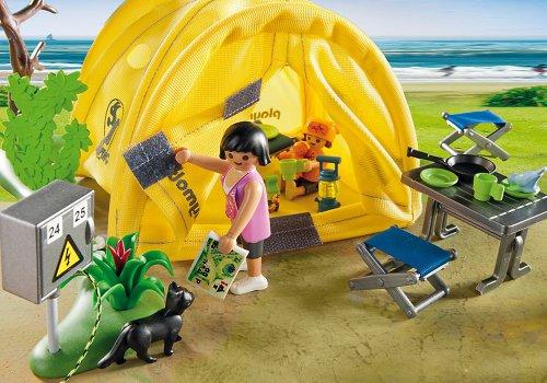 Playmobil-Tienda campaña