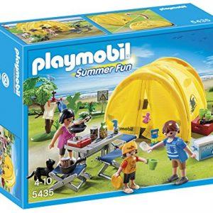 Playmobil-Vacaciones-Tienda-de-campaña