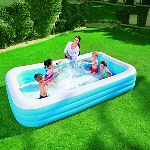Piscina hinchable rectangular familiar