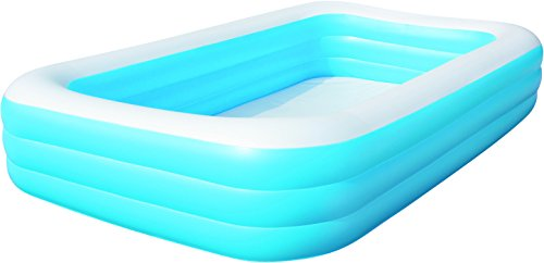 Piscina inflable rectangular bestway juguetespeque for Piscina inflable decathlon