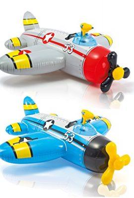 Flotador avion con pistola de agua Intex