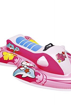 Moto hinchable hello kitty
