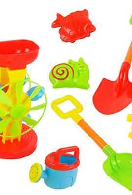 Juguetes playa molino para niños