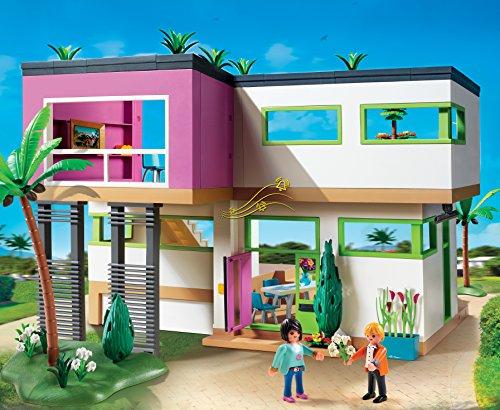 Juguete-Playmobil- mansion.moderna